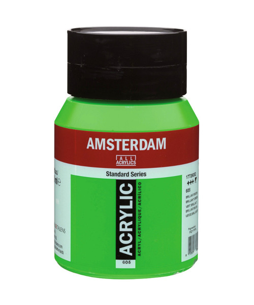 Farba akrylowa Amsterdam 500 ml - 398 Naphthol Red Light